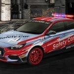 El Hyundai i30 Fastback N Safety Car (PD) del Campeonato Mundial de Superbikes de 2019