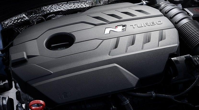 Motor del Hyundai i30 Fastback N Performance de 275 CV