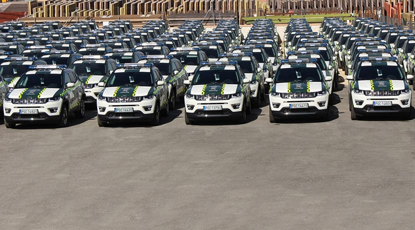 140 Jeep Compass para la Guardia Civil Tráfico