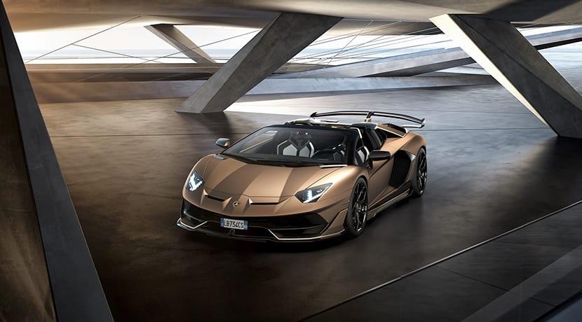 Lamborghini Aventador SVJ Roadster perfil