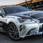 El Lexus GS 350 F-Sport Safety Car (L10) de 2012 a 2015