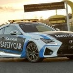 Lexus RC F Safety Car del V8 Supercars en 2015