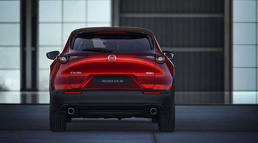 Trasera Mazda CX-30