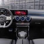 Diseño interior Mercedes-AMG A 35 Sedán