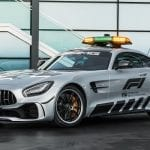 El Mercedes-AMG GT R Safety Car (C190) de Fórmila 1 en 2018