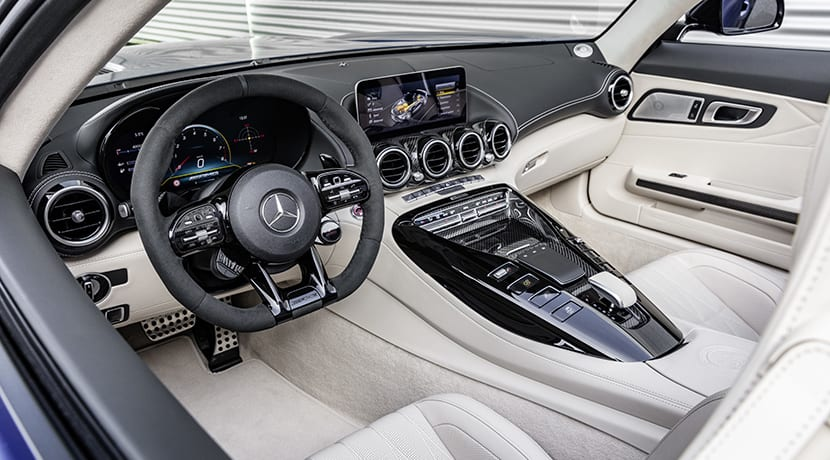 Mercedes-AMG GT R Roadster interior