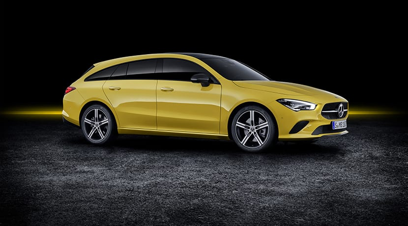 Mercedes CLA Shooting Brake perfil