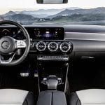 Diseño interior del Mercedes CLA Shooting Brake