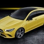 Perfil delantero Mercedes CLA Shooting Brake