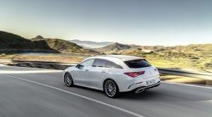 trasera dinámica Mercedes CLA Shooting Brake