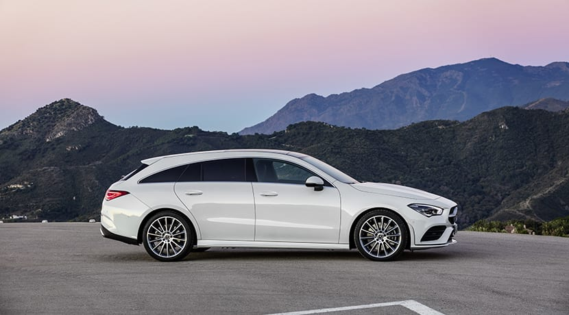 Lateral Mercedes CLA Shooting Brake