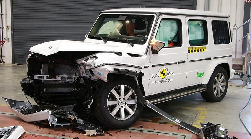 Mercedes Clase G EuroNCAP