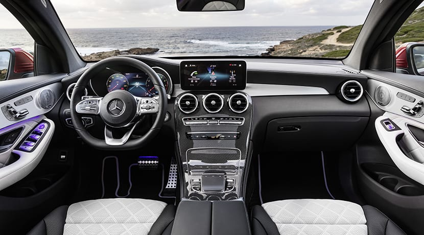 Interior Mercedes GLC Coupé