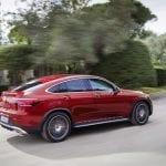 Mercedes GLC Coupé perfil trasero