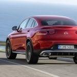 Mercedes GLC Coupé trasera