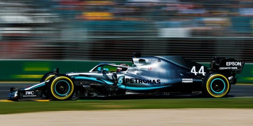 GP de Australia con Mercedes