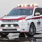El Mitsubishi Outlander GT Safety Car del Pikes Peak en 2013