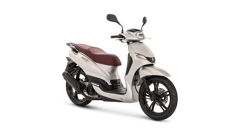 Moto 125 cc scooter Peugeot