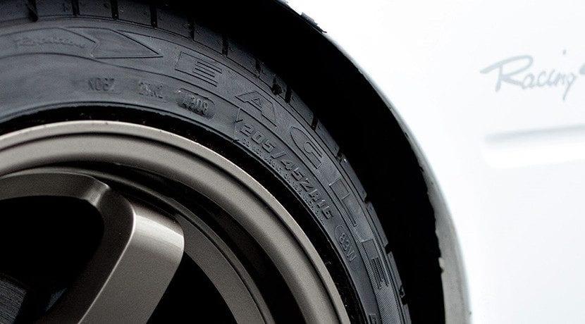Diámetro de las llantas de los neumáticos