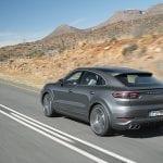 Dinámica trasera Porsche Cayenne Coupé