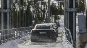 Porsche Taycan pruebas desarrollo