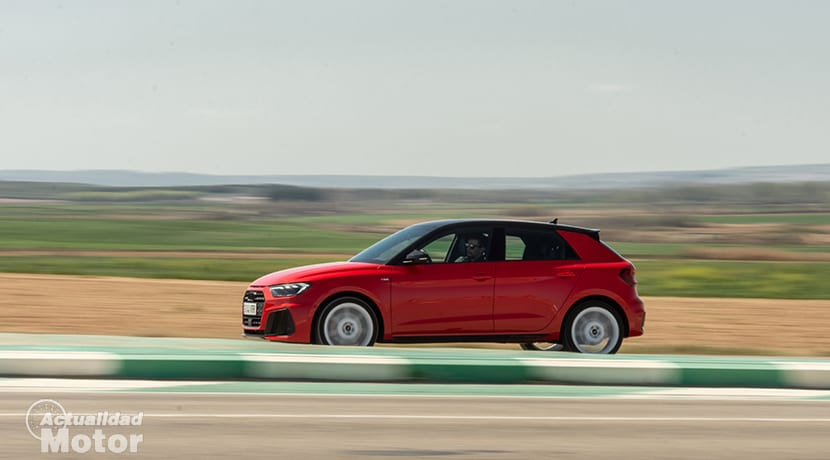 Prueba Audi A1 30 TFSI dinámica