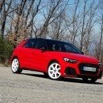 Perfil delantero Prueba Audi A1 Epic Edition