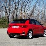Prueba Audi A1 Epic Edition trasera lateral