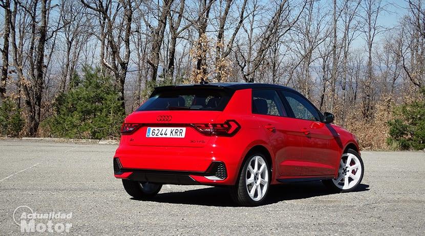 Perfil trasero del Audi A1 Epic Edition