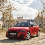 Prueba Audi A1 30 TFSI perfil