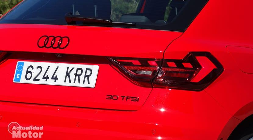 Audi A1 30 TFSI inscripción