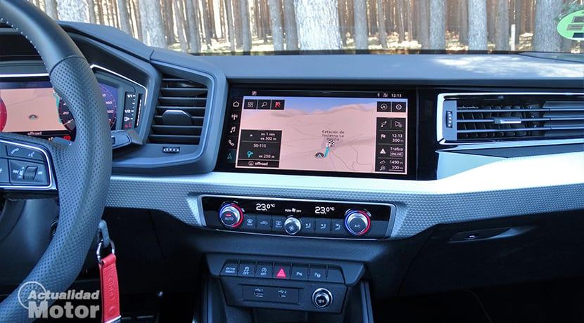 Audi A1 pantalla táctil 10 pulgadas navegador