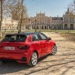 Prueba Audi A1 30 TFSI perfil trasero