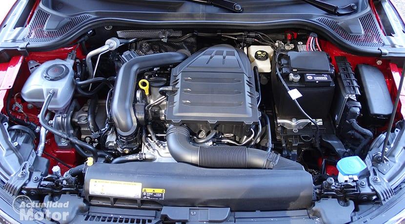 Prueba Audi A1 30 TFSI 116 CV motor