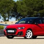 Prueba Audi A1 Sportback perfil delantero