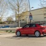 Prueba Audi A1 30 TFSI dinámica perfil trasero