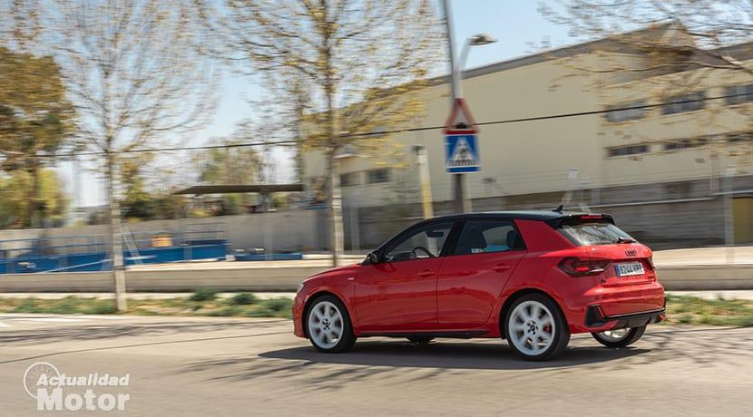 Prueba Audi A1 Dinámica
