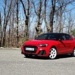 Prueba Audi A1 30 TFSI perfil delantero
