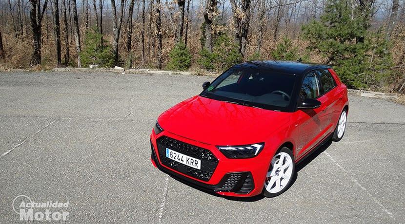 Perfil del Audi A1 Sportback Epic Edition prueba