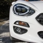 Faros y luces antiniebla del Fiat 124 Spider Lusso