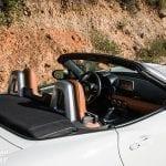 Interior del Fiat 124 Spider Lusso