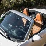 parabrisas del Fiat 124 Spider Lusso