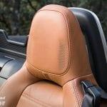 Altavoces del reposacabezas del Fiat 124 Spider Lusso