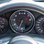 Instrumentación del Fiat 124 Spider Lusso