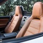 Asientos del Fiat 124 Spider Lusso