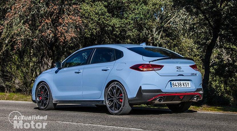 Prueba Hyundai i30 Fastback N Performance