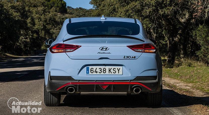 Cola de pato del Hyundai i30 Fastback N Performance