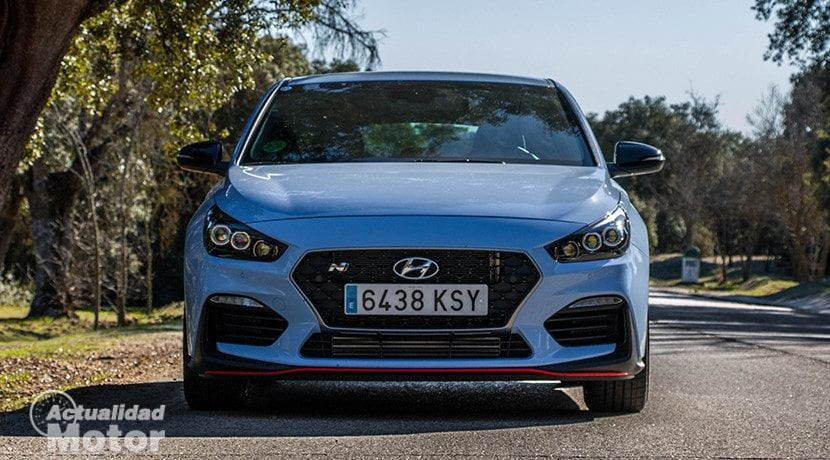 Frontal del Hyundai i30 Fastback N Performance