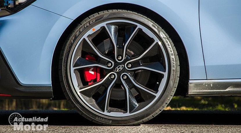 Llantas de 19 pulgadas del Hyundai i30 Fastback N Performance