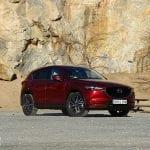 Prueba Mazda CX-5 Skyactiv-D 150 CV perfil delantero